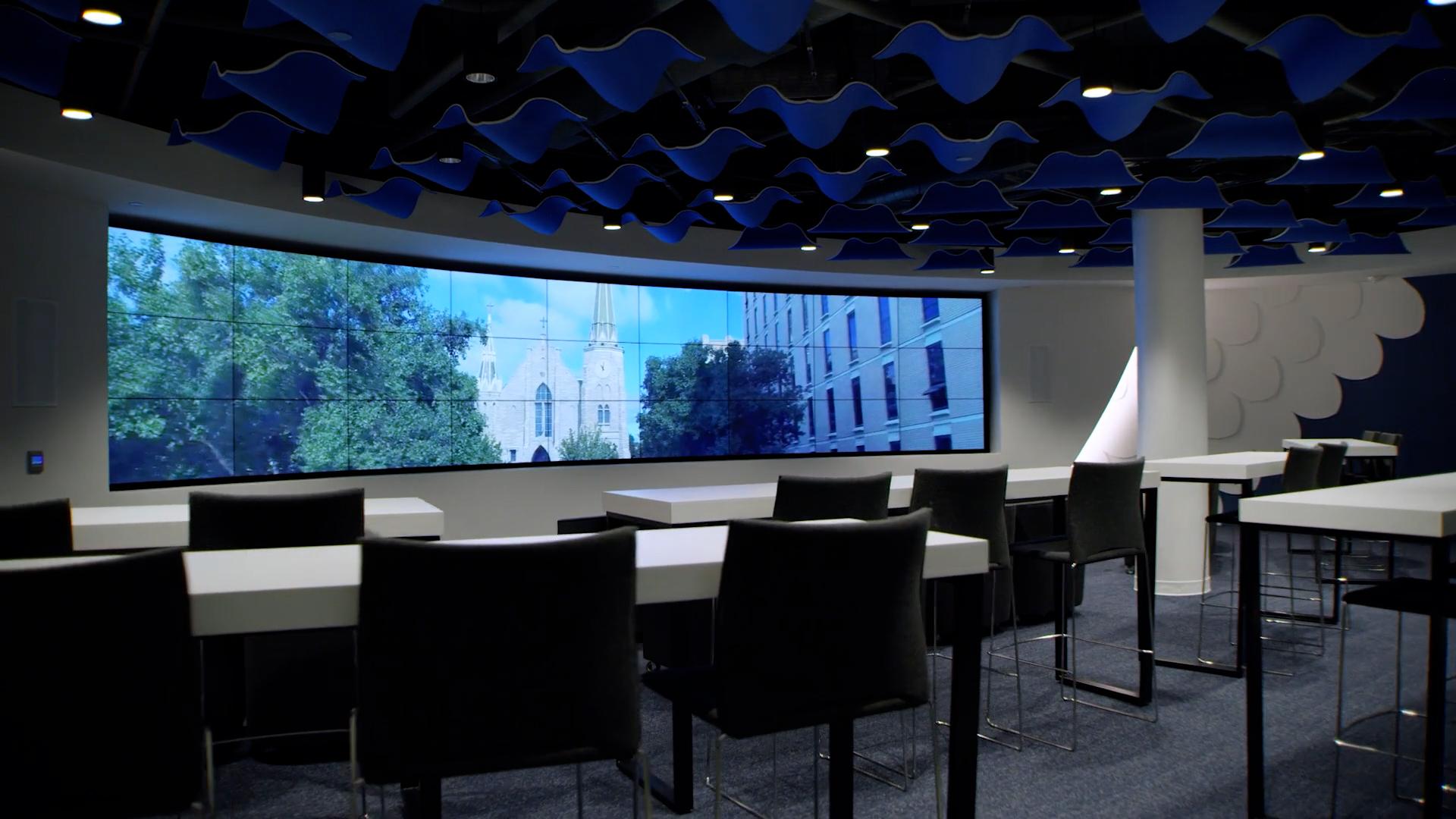 Creighton Univeristy Video Admissions Room